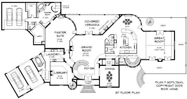 5000 square foot house floor plans house design plans for House plans over 5000 square feet