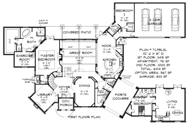 5 000 Square Foot House Plans House Design Plans